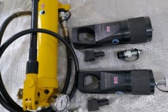 HP HYDRAULIC HAND PUMP, NUT SPLITTERS & FLANGE SPREADERS