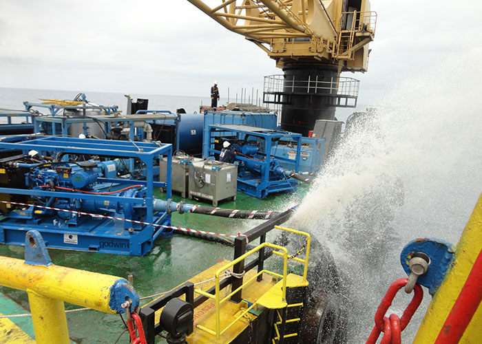 GPPS Pumping Operations Offshore