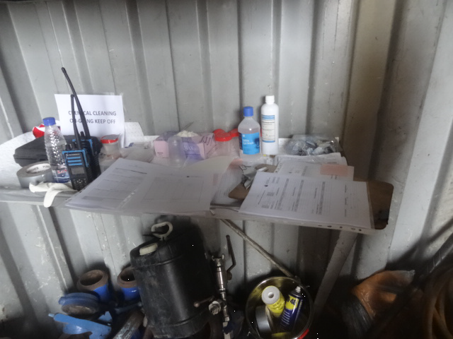 GPPS Chemical Cleaning Mini Laboratory at Client's Location Offshore