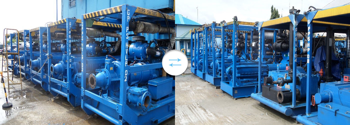 GPPS Equipment for Product Transfer Services