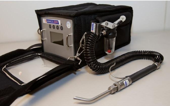 GPPS Portable Helium Detector – Lowest detectable Helium Leak 5 x 10-6 atm cc/sec (5ppm)